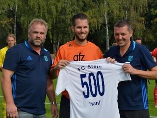 Ehrung Christian Hanf 300 Spiele